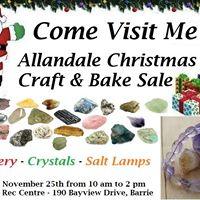 Allandale Christmas Craft &amp Bake Sale