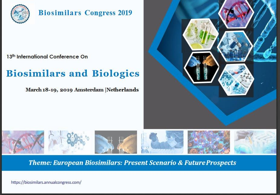 13th International Conference on Biosimilars and Biologics (CSE)