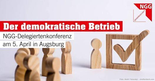 NGG Schwaben Delegiertenkonferenz