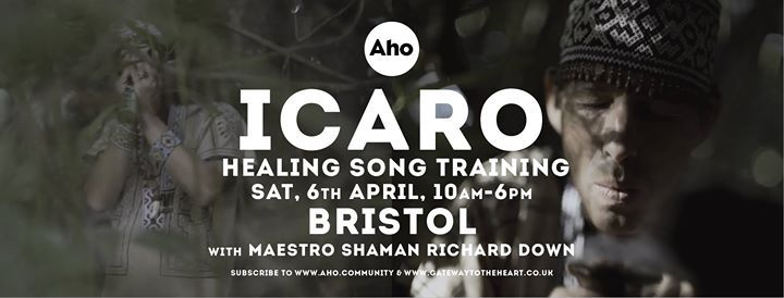 Icaro Healing Song Training in Bristol with Richard Down.