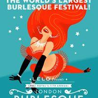 London Burlesque Festival 2017 - &quotDanger Strip Show&quot
