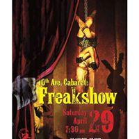 10th Ave Cabaret Freakshow
