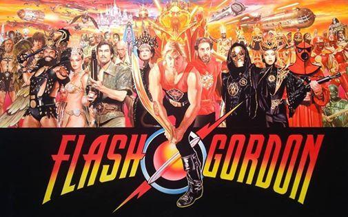 Flash Gordon at the Rio Theatre