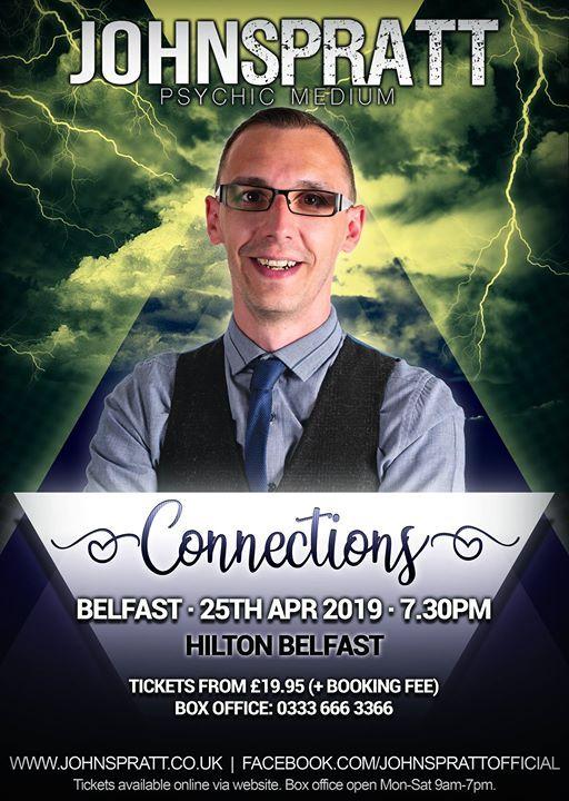 Belfast - Connections Tour (Psychic Medium John Spratt)