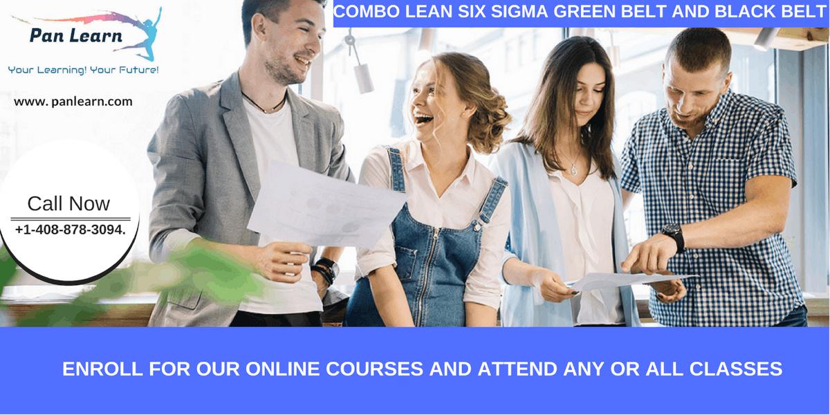 Combo Lean Six Sigma Green Belt and Black Belt Certification Training In Irvine CA