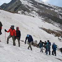 Snow Trek to Chandrakhani Pass