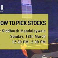 Coworq kewal gyaan- How to pick Stocks