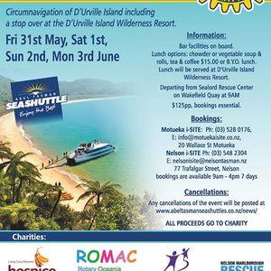 DUrville Island Charity Cruises