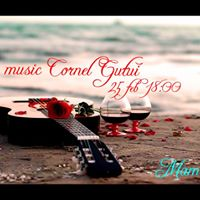 Muzica de pahar cu Cornel Gutui