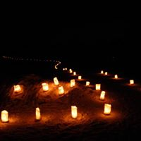 CANdlelight Ski and Snowshoe