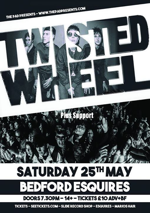 Twisted Wheel The Nomad Hat Tour  The Quids Esquires250519