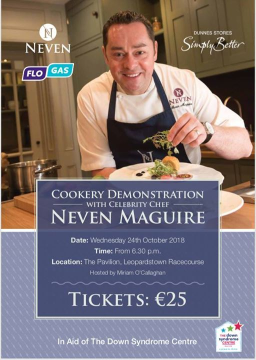 Cookery Demonstration with Neven Maguire