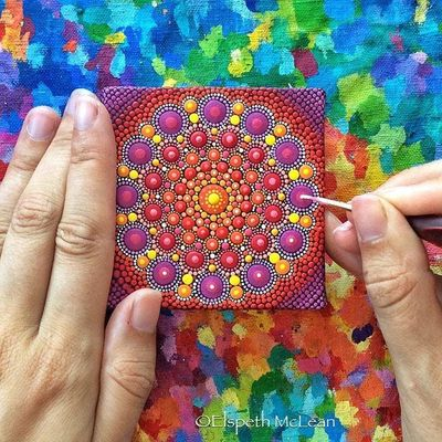 Multiple Mandalas Workshop with Nicole Miele from Rock &amp Soul Reiki