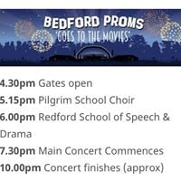 Bedford Proms Goes to the Movies - Bedford Park Concerts