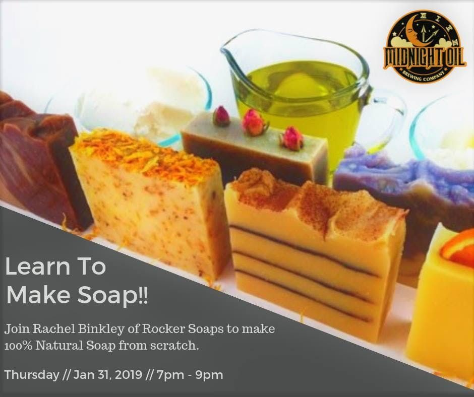 Coffee Beer Soap Class - Learn to Make Soap
