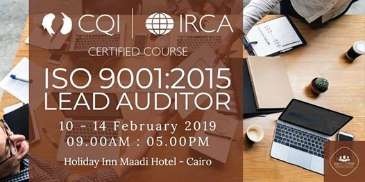 ISO 90012015 Lead Auditor