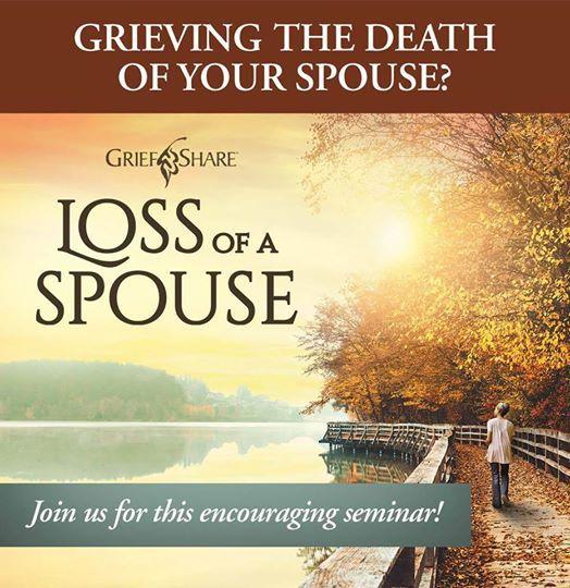 Loss of a spouse seminar January 2019