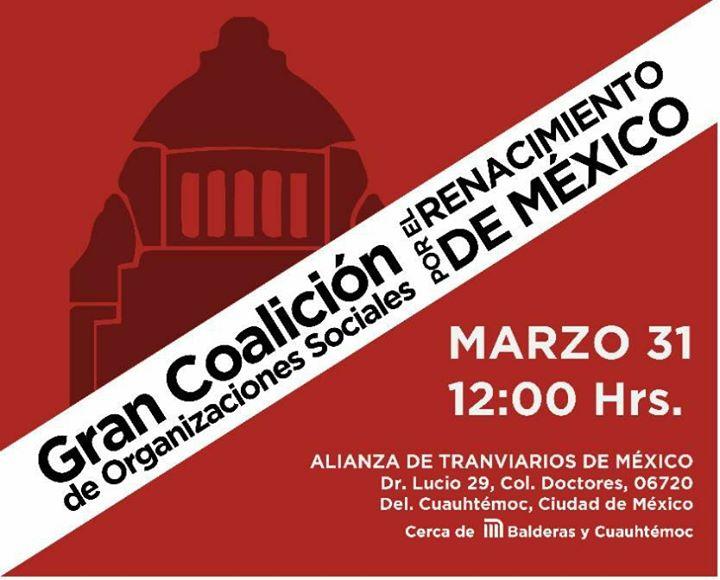 Acuerdo De Unidad Por La Cuarta Transformación De La Ciudad. at ...
