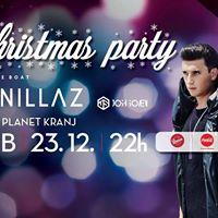 Christmas party z Vanillaz na Disco Planet Kranj  SOB 23.12.
