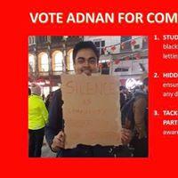 VOTE ADNAN FOR COMMUNITY ZONE AND NUS DELEGATE 1