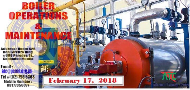 Seminar on Biomass-Fired Boiler Operation and Maintenance at Advance ...