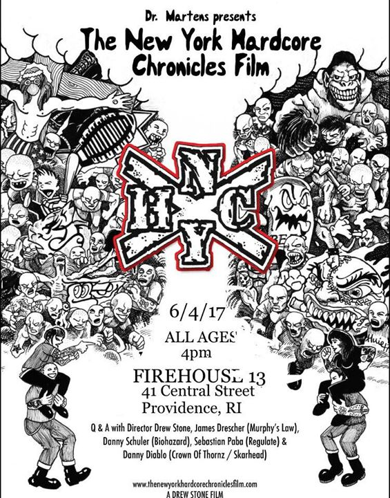 Dr. Martens pres. The NYHC Chronicles Film Providence screening