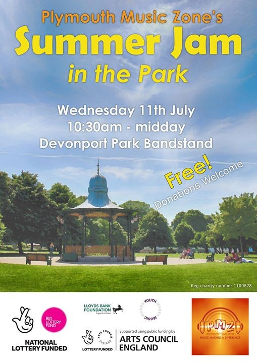 Plymouth Music Zones Summer Jam In The Park 2018 At Devonport Park
