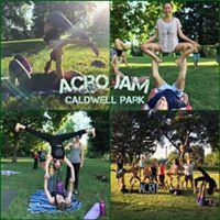 Caldwell Park Sunday Acro Jam