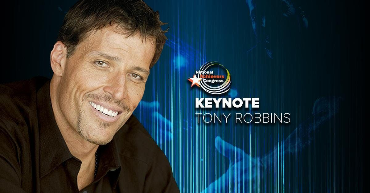 National Achievers Congress Chicago 2019 - Tony Robbins LIVE - One Day Only