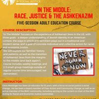 In the Middle Race Justice and the Ashkenazim