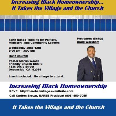 Faith-Based Civic Engagement Training at Friendly Church