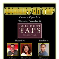 Comedy on Tap - w headliner Mike James