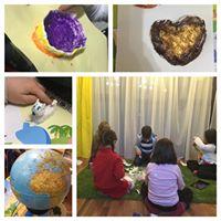 Calatorim in jurul lumii - atelier pentru copii