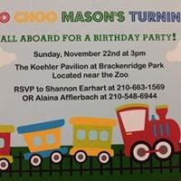 Masons 1st Birthday
