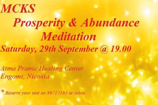 MCKS Prosperity and Abundance Meditation at Atma Pranic