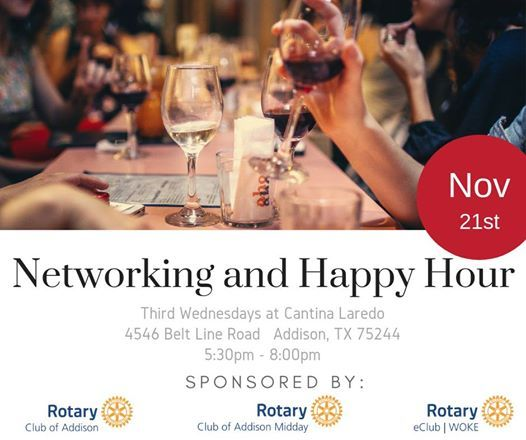 Networking and Happy Hour - Rotary
