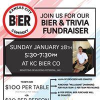 Bier &amp Trivia Fundraiser at KC Bier Co