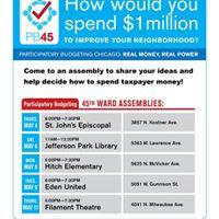 PB Neighborhood Assembly at Jefferson Park Library