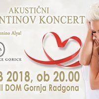 Valentinov koncert z gosti in Penino Alya - Gornja Radgona