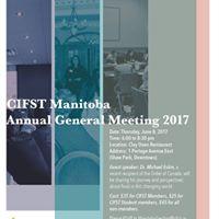 CIFST Manitoba AGM 2017