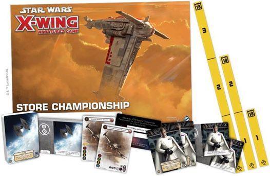 Star Wars  X-Wing FFG Store Championship
