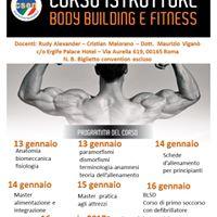 Corso Istruttore BODY BUILDING E FITNESS