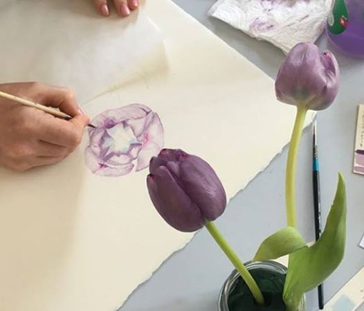 Botanical Watercolour Painting 3-Day Workshop
