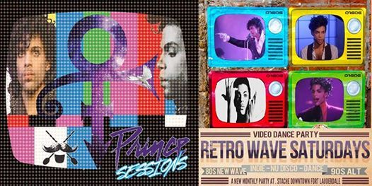 Retrowave: The Prince Sessions at Stache Drinking Den +