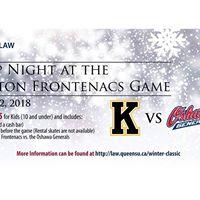 QLaw Group Night at the Kingston Frontenacs Game
