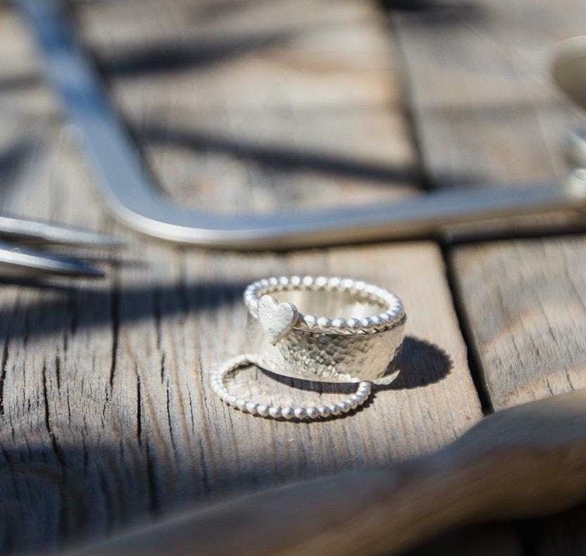 Silver Ring Workshop At Cabinet Rooms Winchester