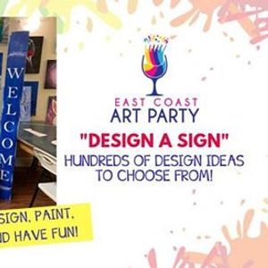 Art Party 0605 &quotDesign a Sign&quot - Charlottetown
