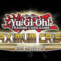 Yu-Gi-Oh Maximum Crisis Sneak Peek Weekend
