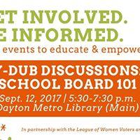 Y-Dub Discussions School Board 101