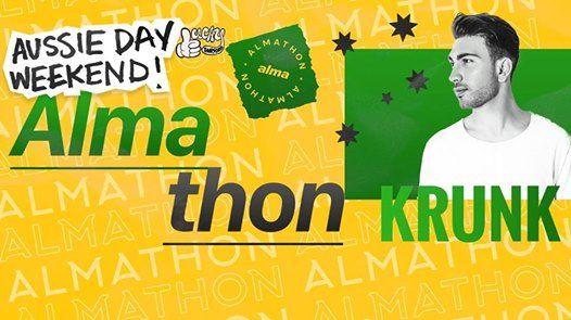 Krunk at Aussie Day Weekend Almathon